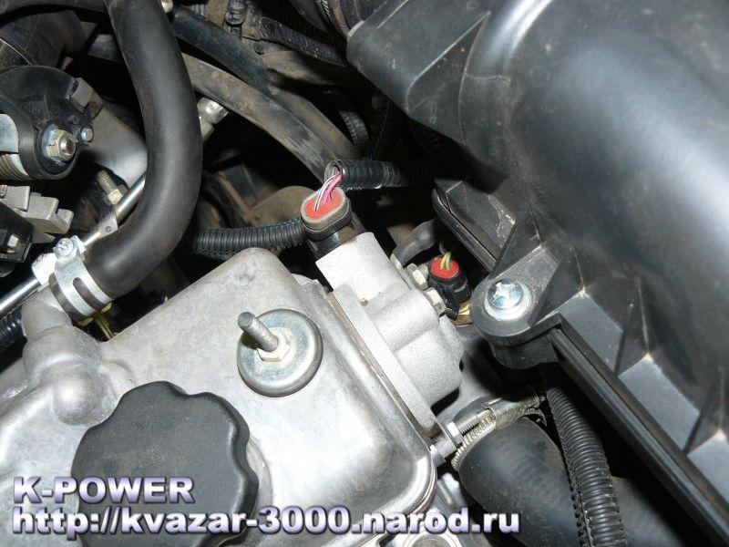 Фото №17 - на что влияет датчик детонации ВАЗ 2110