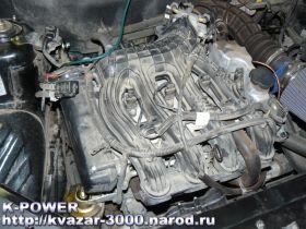 Замер ВСХ серийного двигателя ВАЗ 21126 ПРИОРА (1.6 л)