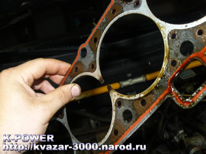 Фото №12 - ВАЗ 2110 нет компрессии в 1 цилиндре