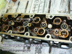 K-POWER Ремонт ГБЦ Daewoo Nexia 1.5 SOHC