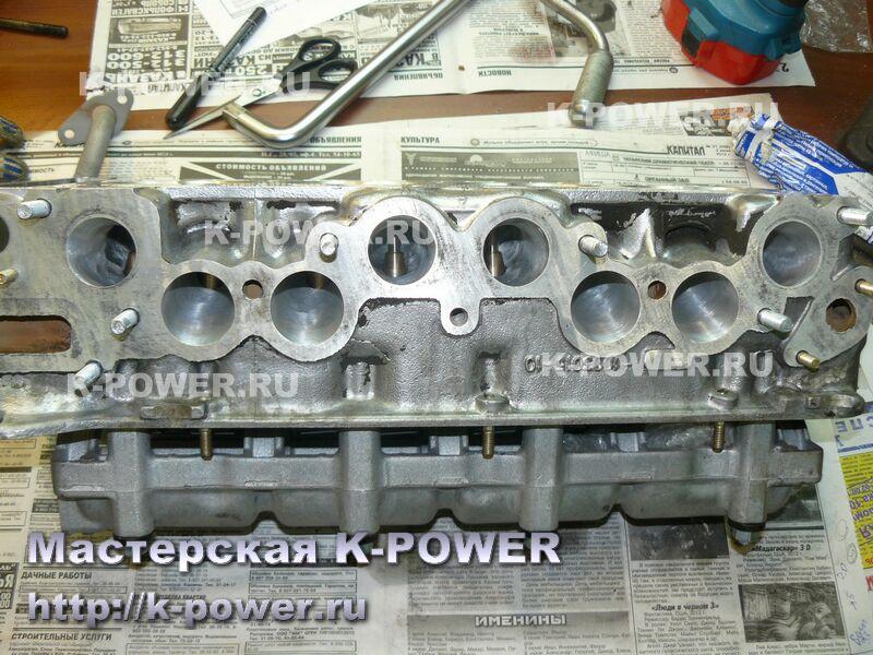 K-POWER Доработка ГБЦ 21011 под распредвал М15 (г. Челябинск)