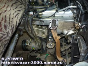 Снятие навесного и демонтаж двигателя Шевроле-Нива (Chevy-Niva)