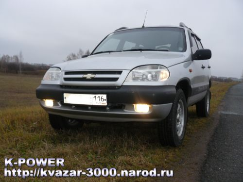 Автомобиль Шевроле-Нива (Chevy-Niva)